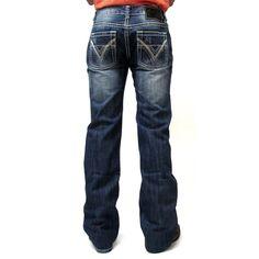 Rock N Roll Cowboy Pistol Straight Leg Jean M1P9567