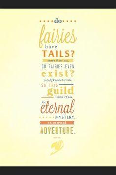 Fairy Tail, an eternal mystery, an eternal adventure.