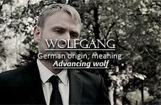 Sense8 character name meanings: Wolfgang.