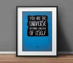 Alan Watts #Quote  5 Colors  You Are the #Universe by SpiritualWiseGuys