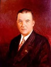 """A.B. """"Happy"""" Chandler - Second Commissioner of Major League Baseball, Member of Baseball Hall of Fame, Governor of Kentucky for 2 terms, and a U.S. Senator."""