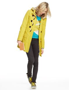 Yellow Duffle Coat at Boden