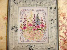 Cottage Garden Flowers Cross Stitch Pattern by countrygarden