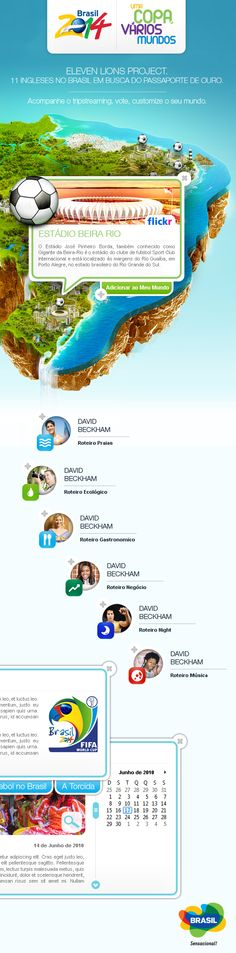 Brasil 2014 - Embratur by Theo Gomes, via Behance
