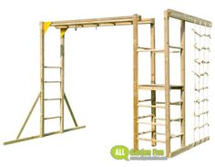 Action MONKEY BARS Climbing Frame (without Slide)