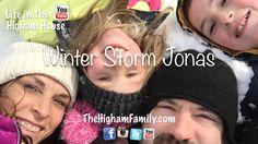 Winter Storm Jonas TheHighamFamily.com