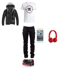 """""""Untitled #659"""" by jamison24 on Polyvore featuring DC Shoes, Naked & Famous, Maison Kitsuné and Beats by Dr. Dre"""