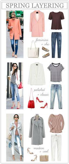 Simple spring outfits (everything under $80)