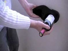 For wine lovers - DON'T have a corkscrew? Are you wearing shoes?     No worries...