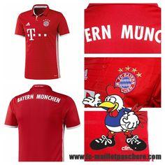 Maillot Du FC Bayern Munchen 2016 2017 18