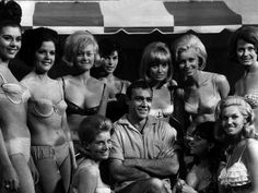 Sean Connery and Girls