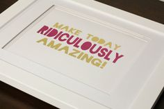 Real Foil Print With Optional Frame Make by SimplyBeautifulDes