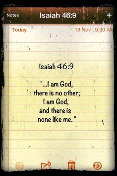 Isaiah 46:9