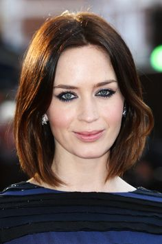 Emily Blunt's bob (Source: Tim Whitby/Getty Images Europe).