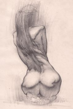 Good figure drawing, showing the shadows really makes the drawing come to life