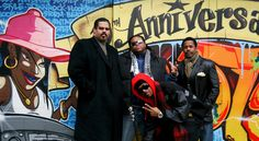 Sugar Hill Gang (some of them, today)