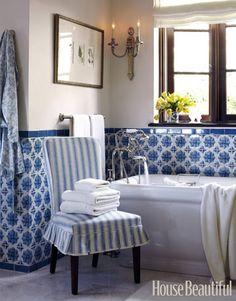 blue & white portuguese