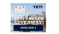 Yeti Coolers are known as the #1 BEST Premium Coolers on the market. Now you can have one for yourself and be the envy of all your friends with a Yeti Tundra 50! There are 50 of them up for grabs in this Yeti Cooler Giveaway!   Yeti Cooler Giveaway