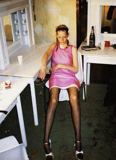 Kirsten Owen @Robert Goris Goris Petrina Lang S/S 1994, by Juergen Teller