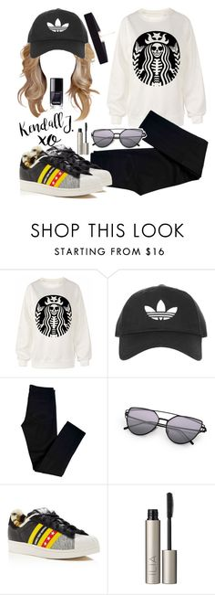 """""""Untitled #703"""" by justinbieber-zaikara on Polyvore featuring Topshop, J Brand, adidas, xO Design, Ilia and 8 Other Reasons"""