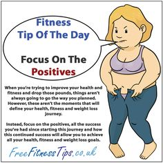Fitness Quotes Of The Day | Fitness Tip Of The Day – Focus On The Positives | Free Fitness Tips