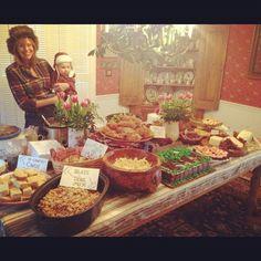 "lumberjack party food table ""blaze the trail mix"""
