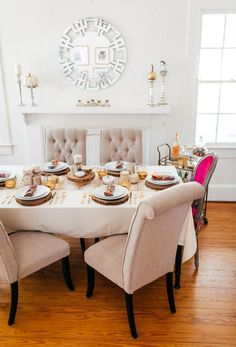 Haute Off The Rack, Thanksgiving Table Setting, How To Decorate Your Home  For Thanksgiving