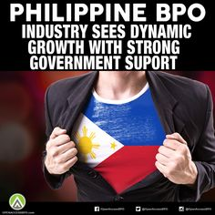 With strong government support, the Philippine BPO industry sees an even more dynamic growth this year as new policies are underway, says industry experts. 2016 Goals, To Reach, Filipino, Customer Service, Philippines, Strong, Sayings, Lyrics, Customer Support