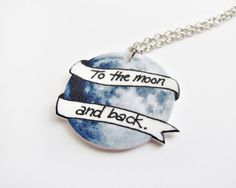 I love you to the moon and back. would love to get one for my niece and nephew its what we always say to each other