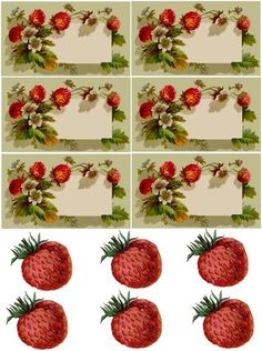 Perfect free printable for Strawberry jams..