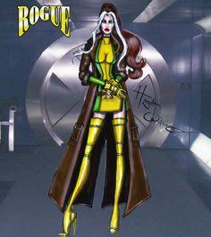 #Marvel Divas by Hayden Williams : Rogue