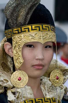 Buryatian beauty.  The Republic of Buryatia is a federal subject of Russia.  The republic is located in the south-central region of Siberia along the eastern shore of Lake Baikal.