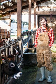 Cherry Valley Dairy ~ faces of female farming ~ ph. Audra Mulkern ~ farm to table documentarian