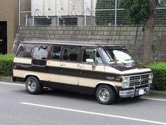 Chevrolet Van, Gmc Vans, Vanz, Custom Vans, Kustom, Chevy Trucks, Van Life, Caravan, Cars And Motorcycles
