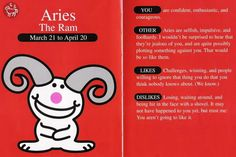 Aries - Happy Bunny edition