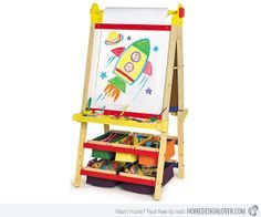 20 Kids Art Easels for Future Da Vincis | Home Design Lover