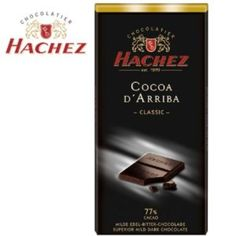 I'm learning all about Hachez Cocoa D'Arriba Classic 77 % Superior Mild Dark Chocolate Bar at @Influenster!