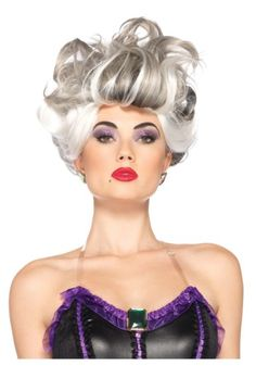 Glam up with Disney Ursula Wig. Endless Range of Ursula Wigs for Halloween at PartyBell. Disney Villain Costumes, Disney Cosplay, Disney Villains, Adult Costumes, Ursula Disney, Ariel, Disney Disney, Disney Princess, Halloween Fancy Dress