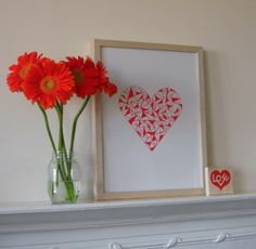 UK love by cardsbyjane on Etsy Machine Applique, Real Love, Planting Flowers, Frame, Plants, Cards, Etsy, Home Decor, Picture Frame