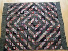 SALE Antique  Folk Art Quilt late 1800s early by TrueValueVintage, $245.00
