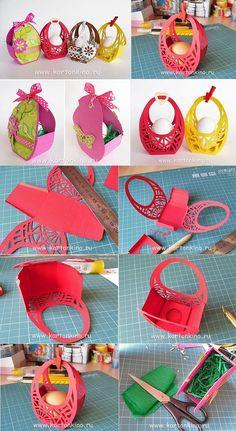 Easter Baskets – DIY: