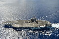 The aircraft carrier USS Ronald Reagan (CVN 76) is en route to Hawaii for Rim of the Pacific (RIMPAC) 2014. | Flickr - Photo Sharing!
