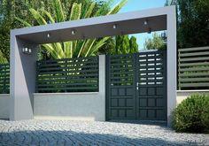 Incríveis e diferentes: Belos portões modernos #16 – Minilua