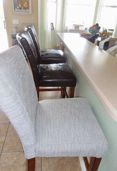 Reupholster Bar Stool