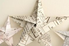 Click to see crafty and eco-friendly ways to recycle your old newspapers.