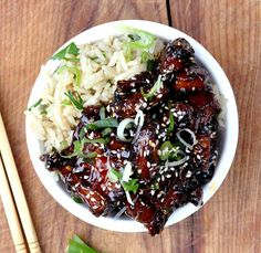 Twice cooked sticky pork belly with smoked chilli honey becomes tender in the slow cooker then crispy in the wok! Give it a go.