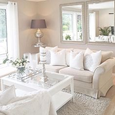 Home Decorating Websites Stores Code: 5721782105 Living Room Decor Inspiration, Living Room Decor Cozy, New Living Room, Interior Design Living Room, Home And Living, Living Room Designs, Home Decor Styles, Sofa, Couch
