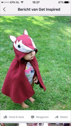 Verkleedkleding vos. Leuk voor de Kinderboekenweek http://onderwijsstudio.nl/kinderboekenweek-2016/