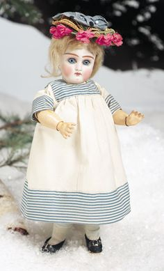 Sonneberg Bisque Closed Mouth Doll