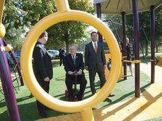 Praise for Pelham park playgrounds Centennial Park, Pelham (www.abcrecreation.com